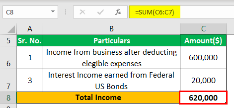 Tax-Exempt Example 1