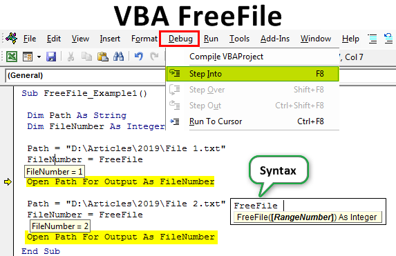 VBA FreeFile | How to Use FreeFile Function in Excel VBA?