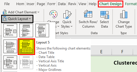 Bar Chart in Excel Example 2.9