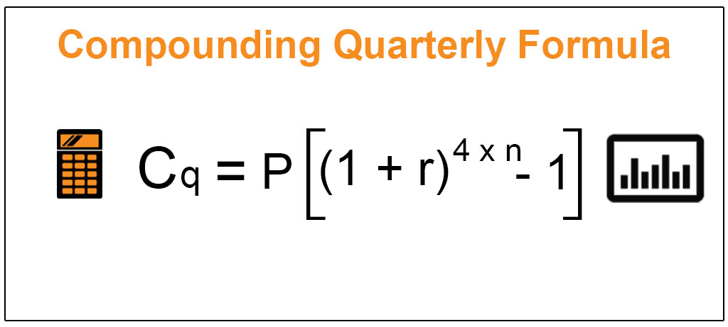 Compounding Quarterly Formula