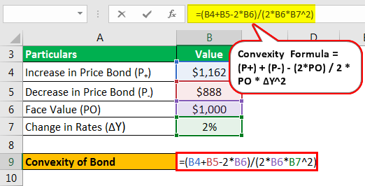Calculate Convexity of a Bond - Example 1.2