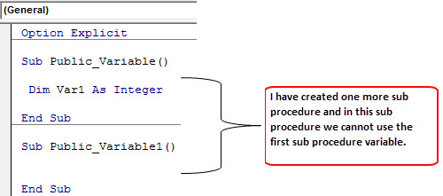 Declare VBA Public Variables 1-1