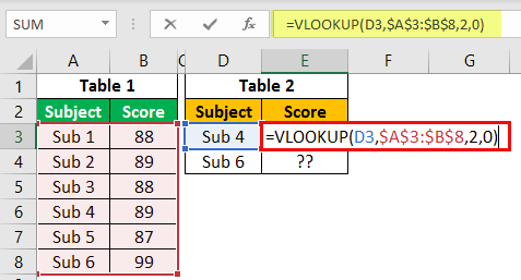 Excel Commands Example 1-5