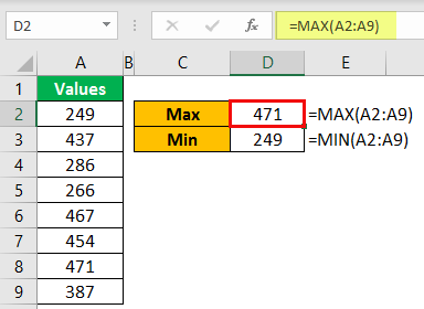 Find Max & Min Example 10