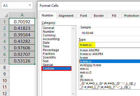 Format Cell in Excel Example 2.1