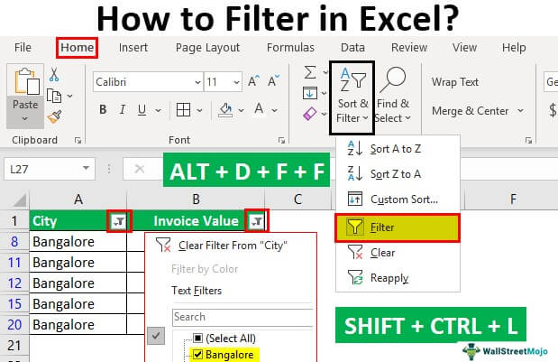 How-to-Filter-in-Excel