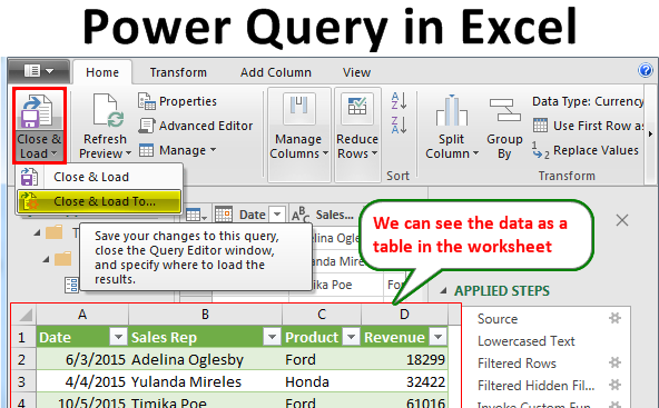 Power-Query-in-Excel