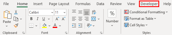 Programming in Excel Example 1.4