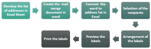 Steps to create labels