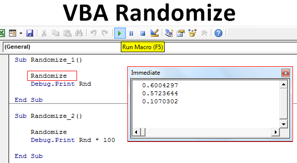 VBA-Randomize