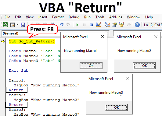 VBA Return