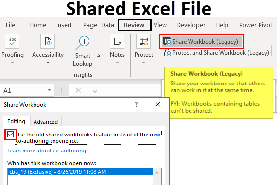 share excel file