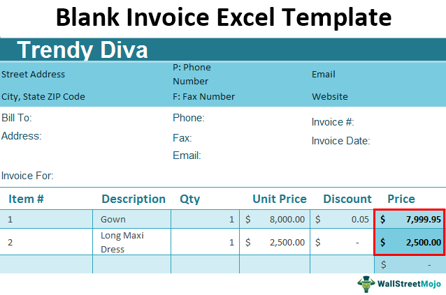 Blank-Invoice-Excel-Template