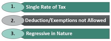Features of Flat tax