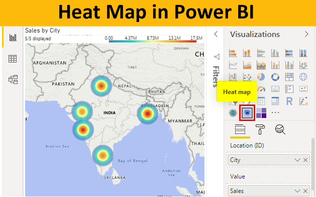 Heat Map in Power BI
