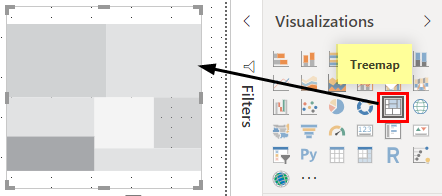 Power BI Reports (Treemap)