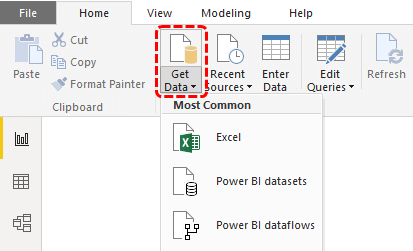 Power BI Reports (get data)