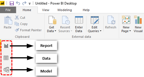 Power Bi Desktop (Icons)