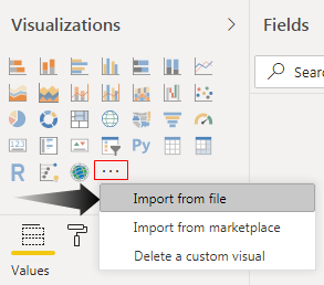 Power BI - Import Option