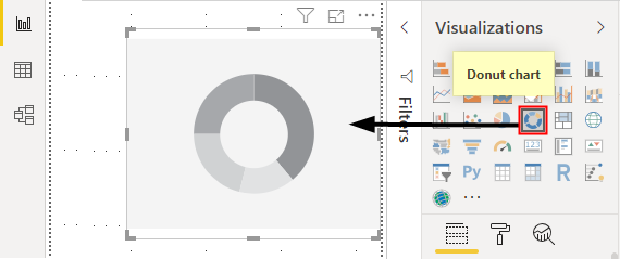 Power BI Visual #2 - Donut Chart