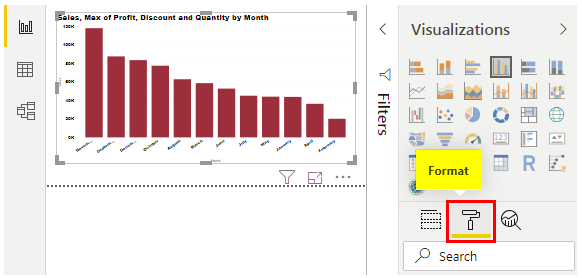 power bi tooltip (Report page)