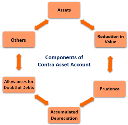 Components of Contra Asset Account
