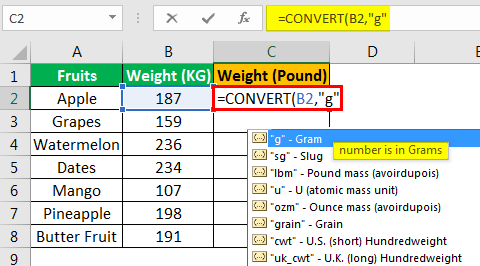 Convert Function - Example 1.4