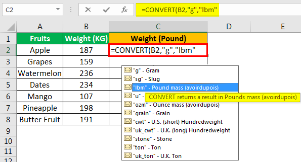 Convert Function - Example 1.5