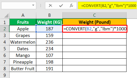 Convert Function - Example 1.6