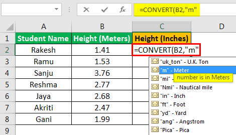 Convert Function - Example 2.3