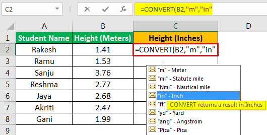 Convert Function - Example 2.4