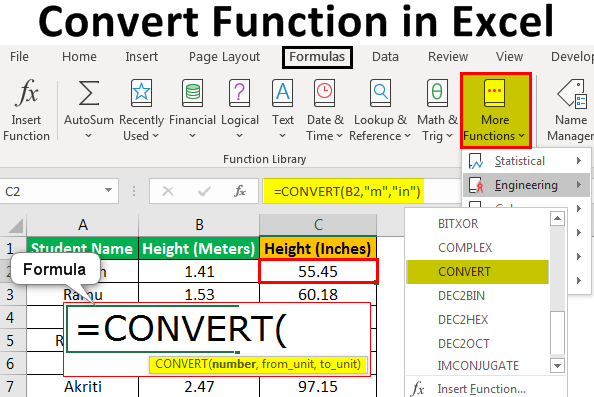 Convert-Function-in-Excel