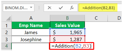 Custom Excel Function Example 1-6