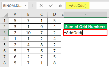 Add Odd Numbers Example 2-4