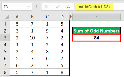 Add Odd Numbers Example 2-6