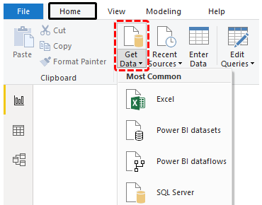 Get Started with Power Bi (Get Data)