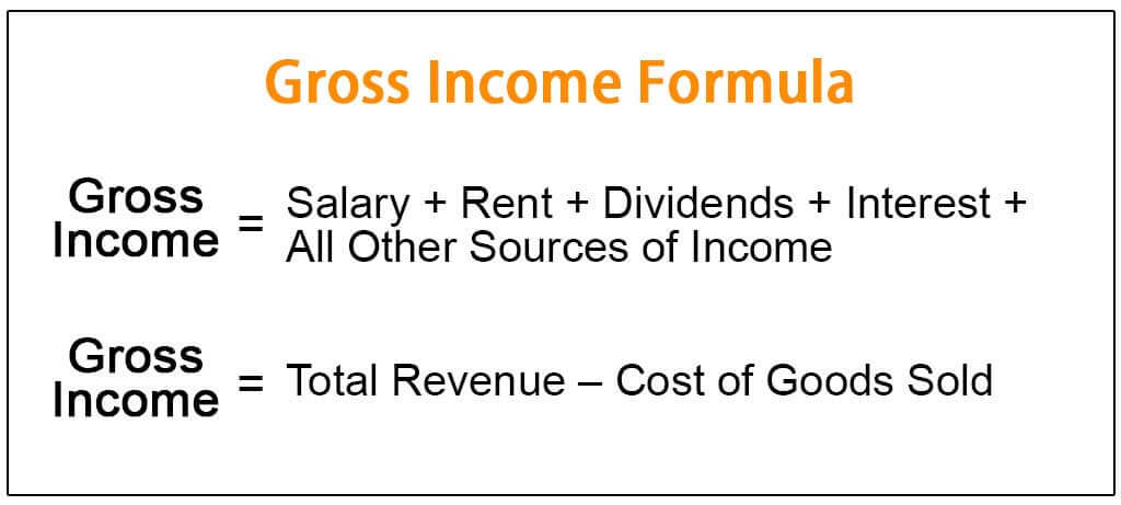 Gross Income Formula