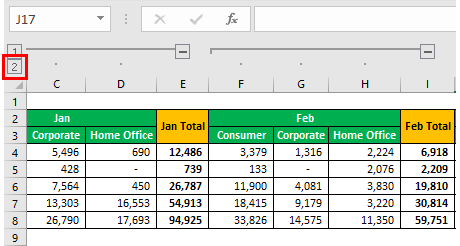 Group Data Example 1-14