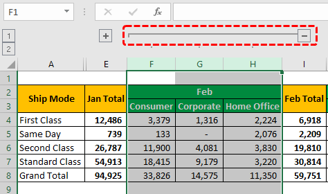 Group Data Example 1-6