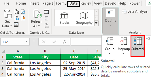 How to Group Rows in Excel Example 2.4