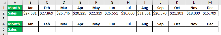 Interactive Chart in Excel Example 1.2.0