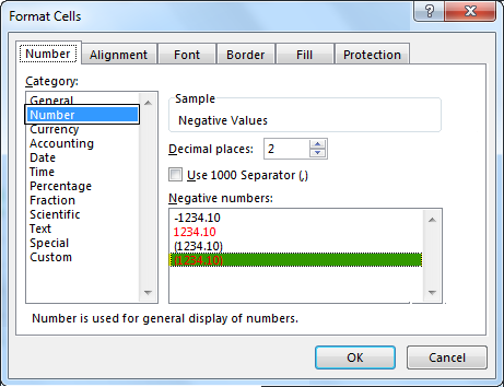 Negative Numbers - Select Negative Values