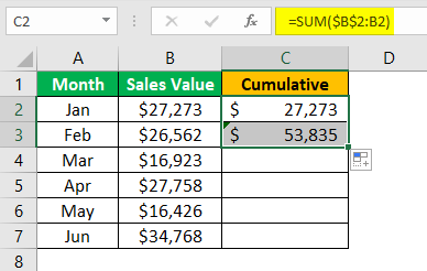 Statistics in Excel Example 2.4