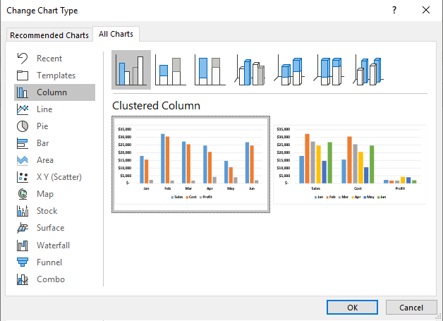 Comparison Chart In Excel How To Create A Comparison Chart In Excel