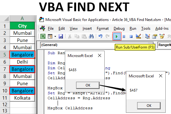 vba find next