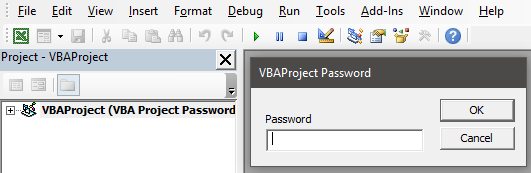 VBA Project Password Example 1-8