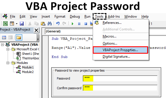 VBA Project Password