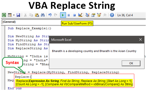 VBA Replace String