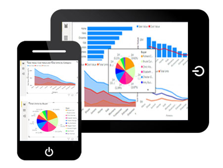 mobile app in power bi features
