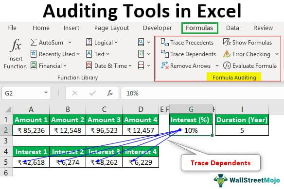 Auditing-Tools-in-Excel